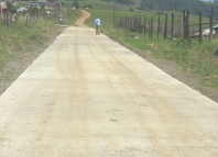 Fafaza Rd Pmb - the completed road