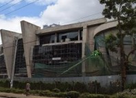 Construction in Kenya of a library